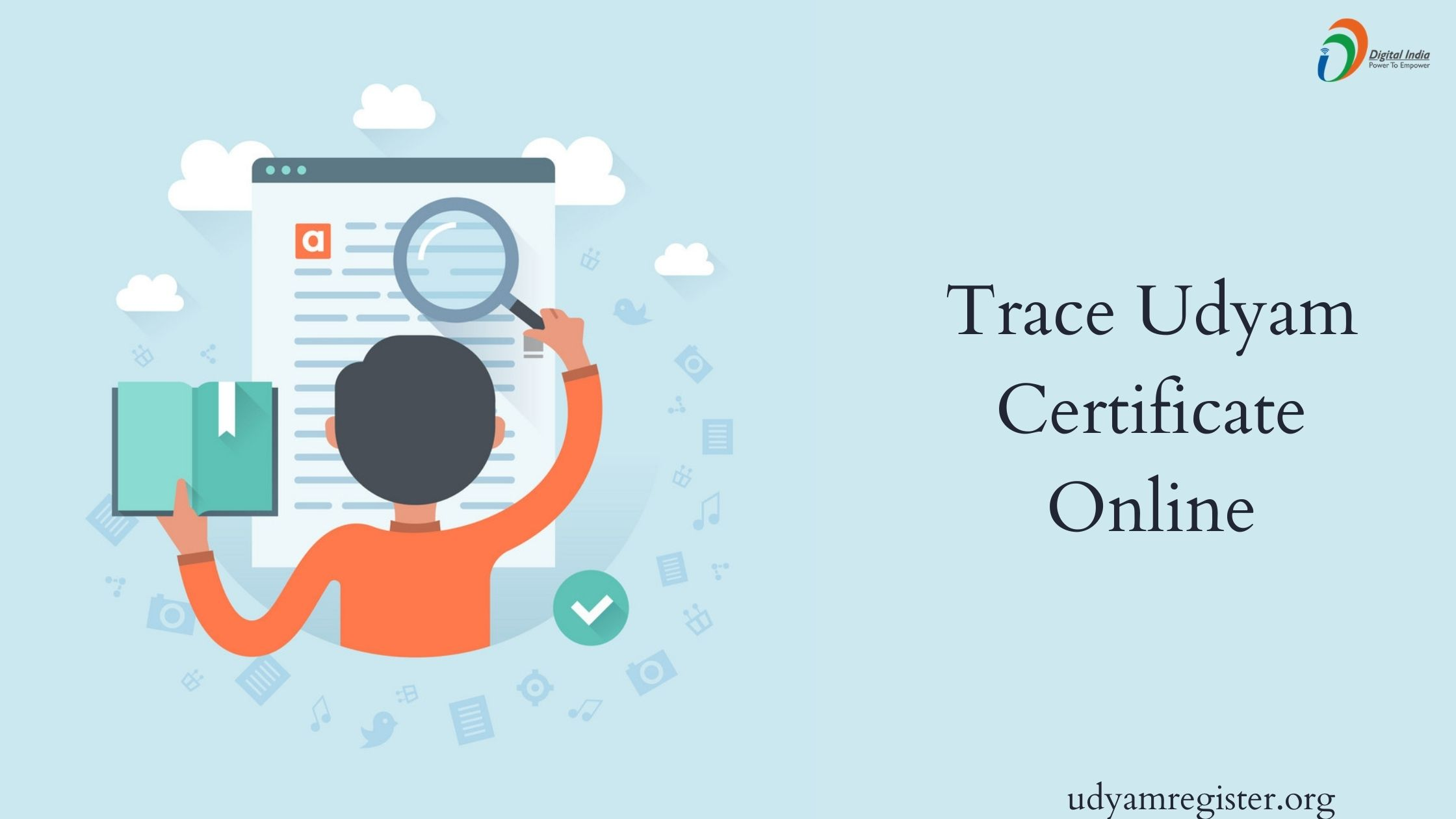 Trace Udyam Certificate Online